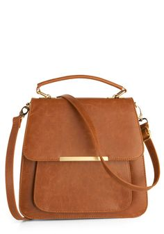 perfect brown leather crossbody