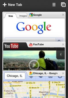 Chrome Browser for iPhone and iPad