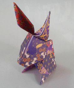 Coniglio - origami fatti a  mano Rabbit - origami handmade