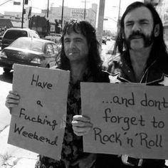 don't forget to rock'n'roll!
