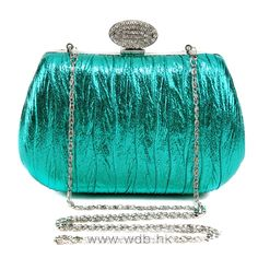 Glittering PU leather Clutch $39.98