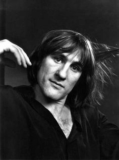 Gerard Depardieu by Yousuf Karsh (December 23, 1908 – July 13, 2002)