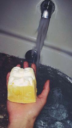 golden wonder bath bomb - pinterest: livvvbug ☾