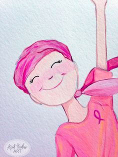 You Got This Breast Cancer Awareness & Support by aprilheatherart