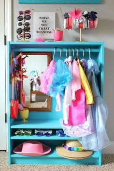 The bookcase is only $40. If you have paint and a mirror lying around to use, there's a pretty good chance you can get out of this thing for $50. If you're a mom with a little girl who loves to play dress-up, that's a small price to pay to end meltdowns and keep your sanity.