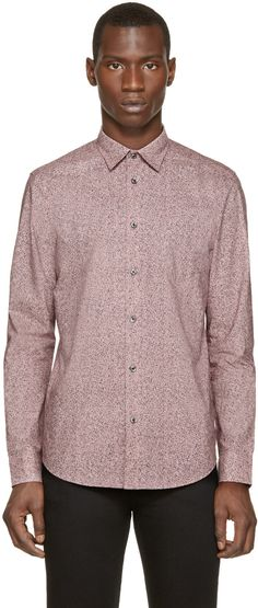 Diesel Pink Speckled S-Noise Shirt
