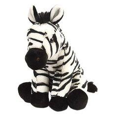 Wild Republic Cuddlekin Baby Zebra Plush Stuffed Animal