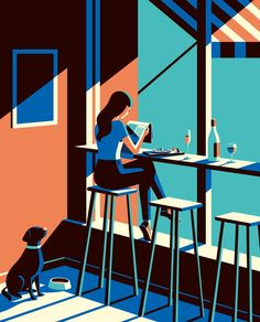 Cafe Inevitable - Cafe by Malika Favre