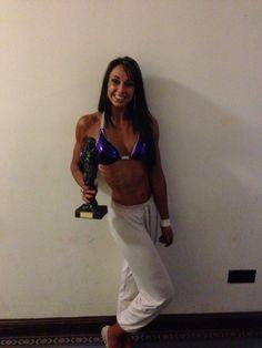 3rd place bikini fitness tall UKBFF southcoast