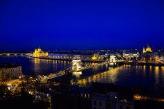 https://flic.kr/p/J13Tze | Budapest at Blue Hour | Budapest, Hungary