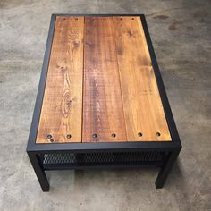 Cet article n'est pas disponible - Expolore the best and the special ideas about Modern industrial Welded Furniture, Industrial Design Furniture, Iron Furniture, Industrial Table, Steel Furniture, Rustic Furniture, Modern Industrial, Furniture Vintage, Wood Table Design