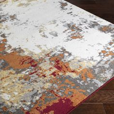 Found it at AllModern - Shuff Charcoal/Orange Area Rug
