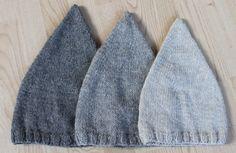 Strikkede nissehuer | Maskefabrikken Knitting For Kids, Knitting Ideas, Easy Home Decor, Knitted Hats, Knit Crochet, Kids Fashion, Sewing, Blog, Crafts