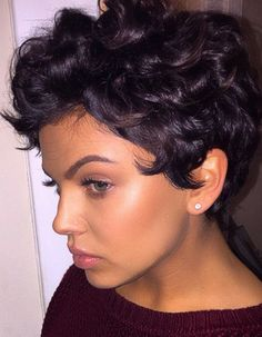 ***Try Hair Trigger Growth Elixir*** ========================= {Grow Lust Worthy Hair FASTER Naturally with Hair Trigger} ========================= Go To: www.HairTriggerr.com =========================      Her Short Curly Cut is CUTE!!!!