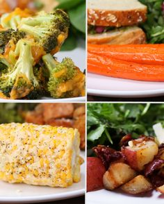 4 Easy 3-Ingredient Vegetable Side Dishes | 4 Easy 3-Ingredient Vegetable Side Dishes