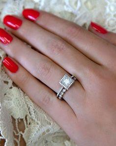 33 Vintage Wedding Rings We're Obsessed With ❤ vintage wedding rings white gold vintage rings1 #weddingforward #wedding #bride