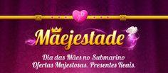 Logo campanha Dia das Mães - Submarino