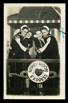 kari-young: 1940s World War 2 Sailors Smiling...