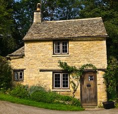 Cottage at Bibury in Gloucestershire by Anguskirk, via Flickr...want this added on to my house as kitchen down and main bedroom up.