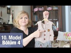 Knitting For Kids, Baby Knitting Patterns, Crochet For Kids, Knitting Designs, Crochet Baby, Knit Crochet, Baby Vest, Crochet Videos, Baby Outfits
