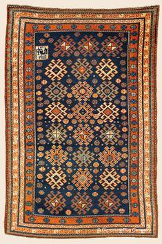 Antique Northeast Caucasian Kuba Rugs