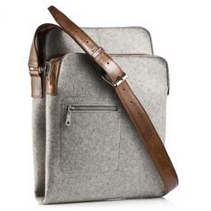 felt laptop/messenger bag