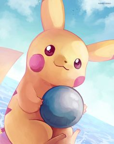 Float and Float by Vermeilbird.deviantart.com on @DeviantArt (Pikachu)