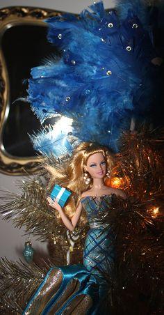 barbie christmas tree decoration