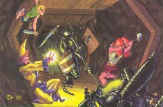 A classic Jeff Dee painting from the old A1 Slavers module