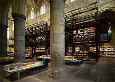 Dutch architects Merkx + Girod have won the Lensvelt de Architect Interior Prize 2007 for their Boekhandel Selexyz Dominicanen in Maastricht – a bookstore inside a former Dominican church.