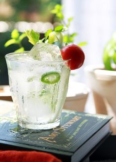 Mamani Gin & Tonic 1.5 oz gin 2-3 slices of fresh jalapeño, seeds removed 2-3 spring cilantro (or...
