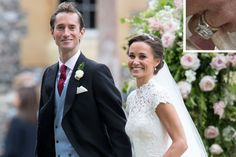 Pippa Middleton's 'Something Old' Was the Perfect Callback to Her Sister Kate's Royal Wedding   REX/Shutterstock
