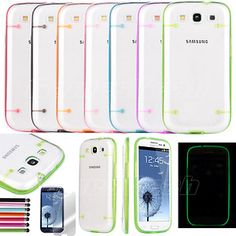 For Samsung S3 Ultra-thin Plastic Case .Light in the dark .