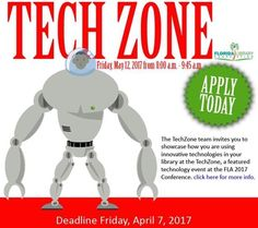 Apply today to be part of FLA Tech Zone! #FLACON2017 #TechZone #Technology