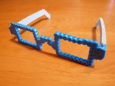 DIY Glasses perler beads
