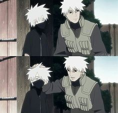 When on earth did Kakashi start wearing that mask? Did he have it on as a baby coming up?
