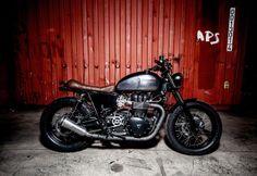 """MaccoMotors Nº3: Triumph Bonneville SE """"DUSTY PEARL"""""""
