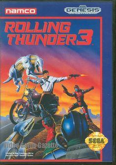 Sega Genesis Rolling Thunder 3