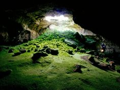 lava tube caves under Tulelake, California