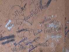 High school graffiti