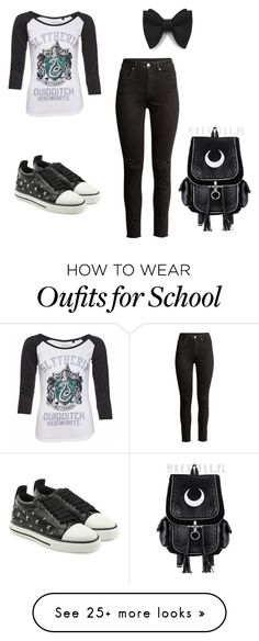 """""""casual"""" by juliana-garcia-3 on Polyvore featuring H&M and RED Valentino"""