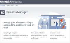 Facebook for business: A time-saving guide to set up Business Manager by @jasonHJH