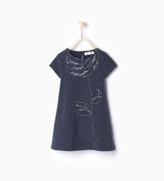 ZARA - KIDS - Dress with flower embroidery
