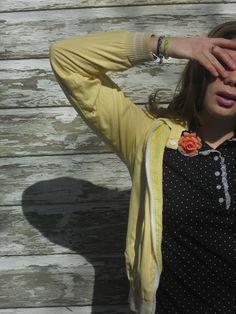Vintage jacket/Polka dots SS12
