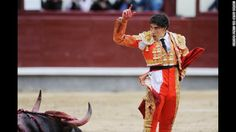 Bulls take down bullfighters but still lose in Spain - CNN.com  http://www.cnn.com/2014/05/22/world/europe/spain-bullfighting/index.html?hpt=hp_c3