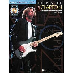 Hal Leonard The Best Of Eric Clapton - Signature Licks Guitar Tab Song