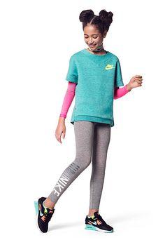 #ropadeportiva #modaniña #nike #pequeñafashionista #sportswear #kidgirl #sports #fashion #running