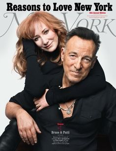 One of New York Magazine's Reasons to Love New York: Because after 26 years of marriage, Bruce Springsteen and Patti Scialfa still sing love songs to each other nightly in front of 948 people. 📸: Danny Clinch Photography