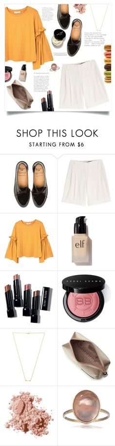 """Brunch Style."" by arwitaa ❤ liked on Polyvore featuring Alexander McQueen, MANGO, e.l.f., Bobbi Brown Cosmetics, Wanderlust + Co and Anya Hindmarch"