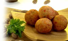 Receta de Bolitas de camarón con Salsa de maní – PRONACA
